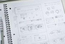 Mockups / Sketchy / Wireframes