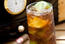 Cuba Libre / The Cuba Libre is a cocktail made of cola, lime, and dark or light rum. Try these recipes at home, and give them a lighter, low-cal twist by using one of your favourite SodaStream Sparkling Water Flavour Mixes