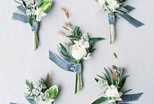 Wedding Ideas: Boutonnières / A selection of my favourite boutonnières and buttonholes