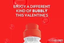 Valentine's Day / Enjoy a different kind of bubbly on Valentine's Day by adding a little sparkle to your celebration with these SodaStream Sparkling Water recipes.
