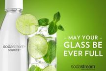 St. Patrick's Day / May your glass be ever full, and your drinks carbonated! Try these St Patrick's day recipes with SodaStream and add a little sparkle to your celebration!
