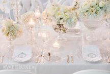 Wedding Colours: Whiter than White / Ideas for styling a white wedding