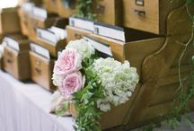 Wedding Themes: Books / Incorporating books into your wedding day