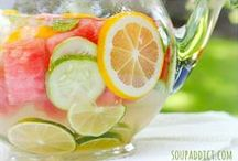 Summer Drink Recipes / Enjoy delicious summer flavours with these refreshing sparkling  drink recipes. Fire up the BBQ, break out the SodaStream, and quench your summer thirst with a little sparkle. Stay hydrated!