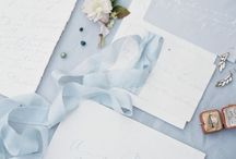 Wedding colours: baby blue / Baby blue wedding inspiration