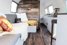 Airstream Obsession / Need to deck out an Airstream? Useful, pretty, and functional items we use, have thought about using, or want to use in the future! Also has posts about the inside of our Airstream and how we manage to live in such a small space!