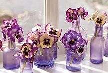 Wedding Themes: pansies / Wedding ideas and inspiration using pansies