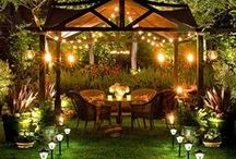 Home Garden/Yard Inspirations / Ideas for a yard of my own. / by Jamie Edmiston