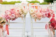 Wedding Ideas: chairs / Ideas and inspiration for chair and aisle decoration for weddings and events