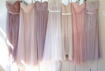 Bridesmaids / Beautiful bridesmaids dresses - elegant gowns