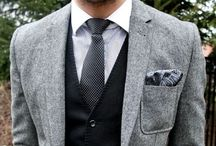 Menswear / Menswear for weddings - the perfect suits, bow ties and looks
