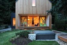 TIMBER CLAD HOMES / Wood clad houses