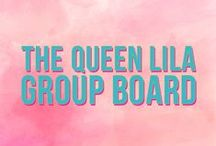 //The Queen Lila group board\\ / Let's start pinning like royalty! Join us in sharing any kind of DIY, crafty, decor, beauty or fashion related pin.  If you want to join this group board please follow me @liz_bumgarner and send me a message on facebook at facebook.com/QueenLila.