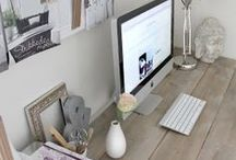 Home Office Inspiration / I would love my office to look like these one day. Minimalism and clean spaces rocks.
