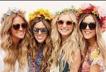 Festival Theme Hen Party / Ideas and inspiration for Festival Hen Weekends or Festival themed summer hen parties!