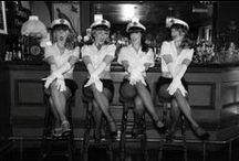 Sailor Hen Party ideas / Inspiration and ideas for Sailor themed Hen Nights and Bachelorette parties. Nautical costumes, veils, sashes and decorations.