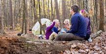 Families on the Trail / Backpacking and hiking with kids is not as difficult as some people think! Find tips, activities, inspiration for hitting the trails with your young children.