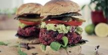 "FOOD | I can't believe it's not meat! / Mostly vegan burgers, ""meat"" balls, meat substitutes"