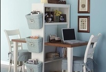 Office and Craft Space / by Melenie Bongner