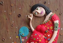 Polymer Clay Art / by Baatz Beads