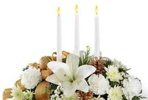 Flowers Holiday Arrangements / by WHAT A BLOOM Florist in Canada