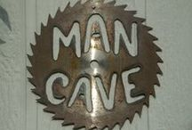 Mancave / Looking for some decorative and organizational ideas for your mancave? You've come to the right place.