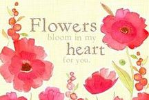 Flower Quotes / These quotes will definitely brighten up your day as we are passionate about flowers and want you to be inspired by these beautiful words.  / by WHAT A BLOOM Florist in Canada