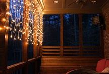 String Lights DIY Ideas / From Christmas to Summer, decorating is fun any time of year with string lights! Create one of a kind DIY crafts, add unique illumination to indoor and outdoor spaces or create the perfect party atmosphere all with just a few strands of light! The only question is, which idea will you try first?!