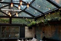 Rooftop Lights / When the sun goes down it's time to head to the roof! Rooftop lights elevate any party from good to amazing! From chic rooftop lounges to your own private home these ideas add character to any sky high space.