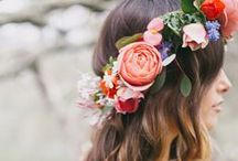 Flower Crowns / Accessorize with these beautiful flower crowns. They can be worn with any outfit and to any occasion.   / by WHAT A BLOOM Florist in Canada