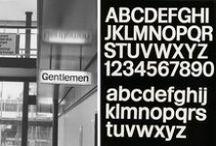 graphic design | type