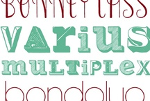fonts / by Alice Campbell