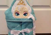 Hooded Towels / Washcloths / by April Nollmann