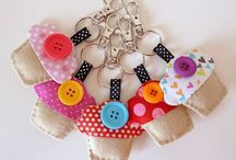 Bookmarks / Key Fobs / by April Nollmann