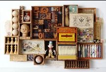 Box Constructions / Art made in boxes