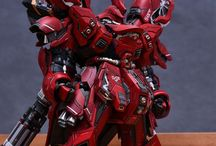 sazabi ver. ka resin convertion kit by infinite dimension