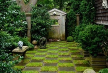 yard and garden / by colorandtexture .