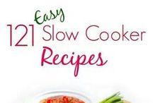 slow cookin' / crockpot recipes / by Deborah Holyfield