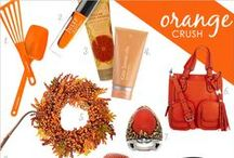 Orange Crush / This citrusy hue adds a punch of color to your home decor & more.
