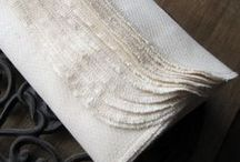 Linens for the home / Organic, simple, functional and sustainable products for the home that last.
