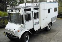 Vehicle | Camp / Camping setups, camperized vans, small caravans,  and small motorhomes/RVs.