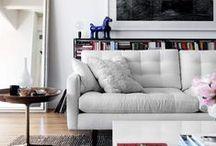 Home - Living Rooms / by Sarita Chitkara
