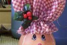 Craft-Light Bulb Ornament
