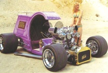 Roth, Barris Etc... / Customs by Ed Roth and George Barris, and similar things.