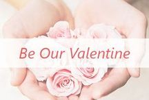Be Our Valentine / We heart Valentine's Day.