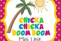 {Book Theme} Chicka Chicka Boom Boom / Activities, worksheets, crafts, ideas, games, etc. that center around the book CHICKA CHICKA BOOM BOOM / by Heather Mix