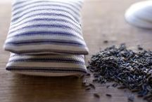 Linen & Cotton Sachets  / Lovely Sachets using natural and colorful whole fabrics.
