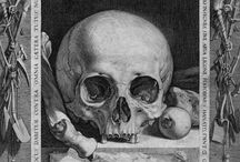 Memento Mori / The darker side of life and death inspires some of the pieces in my Curio collection