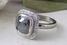 Gorgeous greys / The colour of labradorite, grey moonstone and grey sapphire and beautiful grey diamonds