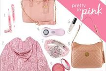 Pretty in Pink / Is there any color more feminine than pink?! This soft shade works gorgeously as a neutral when paired with black or gray, and adds a pretty glow to your skin or nails, too. Here are a few of our favorite picks to keep you pretty in pink!